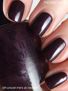 Pretty Bio Sculpture Nail Polish Thick What Removes Nail Polish From Carpet Flat Pinterest Nail Polish Sun Nail Art Old Nail Polish Designs For Short Nails Easy Coloured3d Nail Art Acrylic Powder OPI Lincoln Park After Dark. Your Favorite Grim Color. Something ..