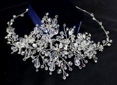 Chran New Handmade Zircon Crystal Tiara Crown Bridal Wedding Party Headband Headpiece Jewelry Accessories Jewelry Sets, Jewelry Accessories, Headpiece Jewelry, Tiaras And Crowns, Bridal, Aliexpress, Headbands, Marie, Gems