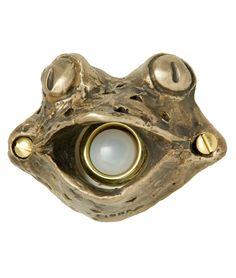 FROG DOORBELL COVER | Frogs, Toad, Door, Bells, Chime, Doorbells, Covers, Home, Porch, Bronze, Decorative | UncommonGoods