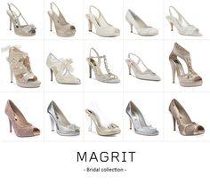 Magrit Bridal Collection: ¿Cual sería tu zapato ideal para un día mágico? http://bit.ly/18xCHFD Magrit Bridal Collection: What would be your ideal shoe for a magical day? http://bit.ly/1C1vhXC