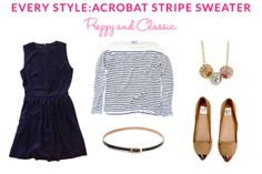 Every Style: Stripe Sweater: Preppy & Classic | Taim Boutique