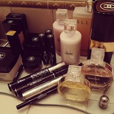 Gorgeous chanel products