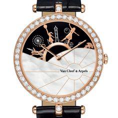 Van Cleef   Arpels Watch A Day In Paris, Hand Watch, Van Cleef Arpels 7817d341cdc