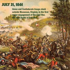 an analysis of the first bull run as the first major battle of the war Information about second battle of bull run, an 1862 civil war battle of the  in this second battle, major  commander in the first battle of bull run—would.