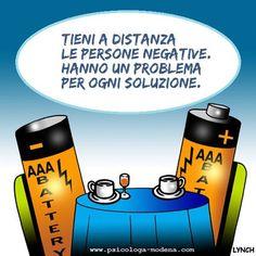 Chi te lo fa fare di lasciarti avvelenare dalle persone negative? #SonoPositivo