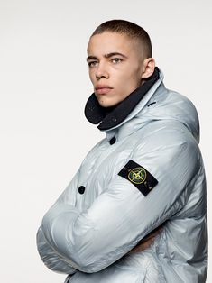 Shop clothing and accessories from the Spring Collection online. Behind Every Great Man, Stone Island, Down Parka, Fall Winter, Autumn, Rain Jacket, Windbreaker, Menswear, Mens Fashion