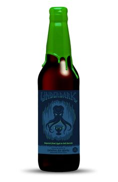 Intuition Ale Works - Underdark by Chad Landenberger, via Behance #beer #packaging
