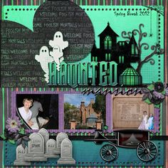 Page from MouseScrappers / 2012-Disney-SB-Haunted-Mani