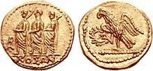 From Wikiwand: Gold coins that have been minted by the Dacians, with the legend ΚΟΣΩΝ. European Tribes, European Languages, Roman Consul, Numismatic Coins, Foreign Coins, 1st Century, Ancient Artifacts, Ancient Rome, Coin Collecting