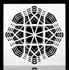 Overlay Airbrushing Stencils by Adam Tenenbaum.  Etsy Shop