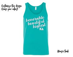 VIEW OUR ENTIRE KAPPA DELTA COLLECTION https://www.etsy.com/shop/UptownGreek?search_query=kappa+delta-chi  ♥♥♥♥♥♥♥♥♥♥♥♥♥♥♥♥♥♥♥♥♥♥♥♥♥♥♥♥♥♥♥♥♥♥♥♥  Super soft Bella+Canvas unisex tank.  Choose tank color/size from the first drop down menu, and imprint color from the second drop down menu.  ♥♥♥♥♥♥♥♥♥♥♥♥♥♥♥♥♥♥♥♥♥♥♥♥♥♥♥♥♥♥♥♥♥♥♥♥  All items are approved through Greek licensing, and available for bulk purchase!  Items ships within 3-5 business days. Rush shipping available, please inquire before…