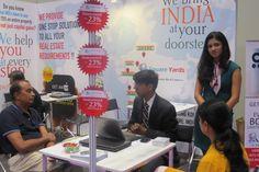 Kanika gupta at Indian Property Show HongKong for Square Yards... @Square Yards Consulting Pvt. Ltd.