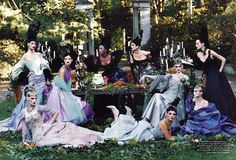 Christian Lacroix Haute Couture...one of my first fashion memories from the first Vogue I ever purchased.