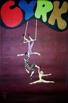 cyrk poster by Jan Kotarbinski