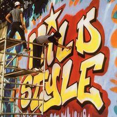 Revolt and Sharp, Photography by Martha Cooper Graffiti Art, Graffiti History, Graffiti Lettering, Dance Nyc, Hiphop, Pink Movies, Stencil, Graffiti Photography, Different Art Styles