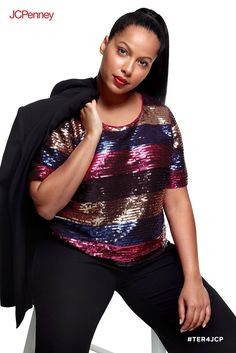 075cd421196 Tracee Ellis Ross for JCPenney is a holiday collection that works for every  woman and every body. Here