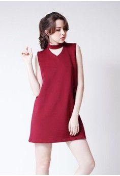 Red dress zalora mastercard