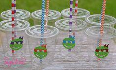 Kids Party CupsTeenage Mutant Ninja Turtles by SignatureAvenue