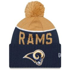 77fe5e388d4 St. Louis Rams New Era 2015 Sport Sideline Cuffed Knit Hat. Los Angeles ...