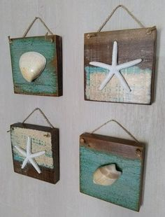 Easy Diy Beach Crafts few Arts And Crafts Beer Parlor Greenwich upon Arts And Crafts Field Tile below Arts Crafts Toddlers Seashell Art, Seashell Crafts, Beach Crafts, Diy And Crafts, Beach Themed Crafts, Starfish, Seaside Decor, Beach House Decor, Coastal Decor