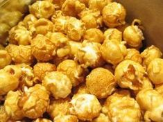 Low Fat Carmel Corn Crunch Snack Mix