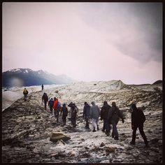 DAY 39 - Walking on top of the 500 year old ice of the Viedma Glacier, El Chalten, Argentina