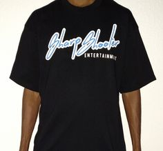 Sharp Shooter Entetainment Black & Light Blue T-Shirts + Sizes – Available in sizes 3XL 4XL 5XL 6XL