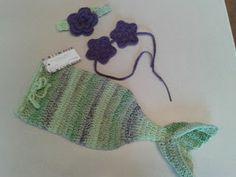 Knotty Knotty Crochet: baby mermaid prop pattern