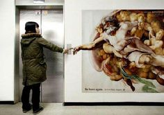 #clever #advertising #heaven