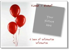 Printable Birthday Party Invitation Templates To Add Your Photo Free Online