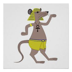 Egyptian Rat Print