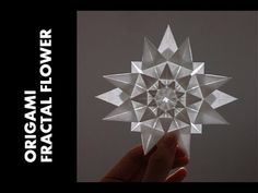 (13) Tutorial - Origami Fractal Flower (Hongyi Wan) - YouTube