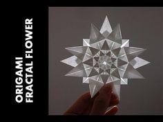 Tutorial - Origami Fractal Flower (Hongyi Wan) ***