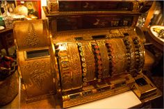 SALE 15% OFF Coupon code: SALE15OFF  Antique Brass Cash Register Fine Art Print by PhotosbyJerryCowart, $20.00  https://www.etsy.com/listing/162686300/antique-brass-cash-register-fine-art  MORE OF MY PHOTOGRAPHS CAN BE SEEN AND PURCHASED ON MY WEBSITE:  jerry-cowart.artistwebsites.com
