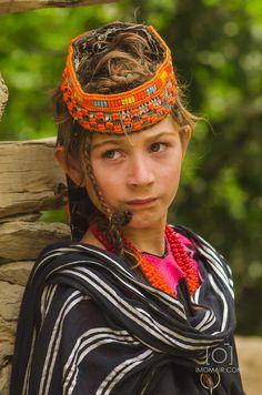 Kalash girl - Pakistan