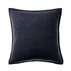 Vintage Washed Linen Cotton Dark Grey