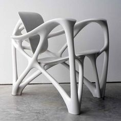 Bone Armchair by Joris Laarman http://www.dezeen.com/2008/03/26/bone-armchair-by-joris-laarman/