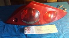 "1999-2002 Mercury Cougar Right Tail Light.  OEM.  Used.  There are a few black marks on the tail light (see picture).  Fair condition.  Asking $45.00  Quality Auto Salvage 14955 Westwoods Rd. Wright City, MO 63390 1(800)483-8921 qualityautosalvage.com ""LIKE"" us on Facebook! Follow us on Twitter ""at"" Salvage_Quality"