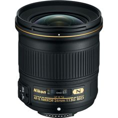 Nikon AF-S NIKKOR 24mm f/1.8G ED Lens 20057 B&H Photo Video