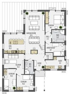 Home Decoration Cheap Ideas Dream House Plans, Small House Plans, My Dream Home, Cabins In Wisconsin, Deco, Sims Building, Story House, Simple House, Minimalist Home