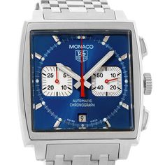 15319 Tag Heuer Monaco Automatic Chronograph Mens Watch CW2113 SwissWatchExpo