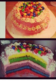 Rainbowcake