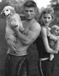 Chris Carmack by Bruce Weber for Abercrombie & Fitch (Fall 2000) #ChrisCarmack #BruceWeber #malemodel #model #actor #af #anf #abercrombie #abercrombieandfitch #bw #nyc #puppies #biceps