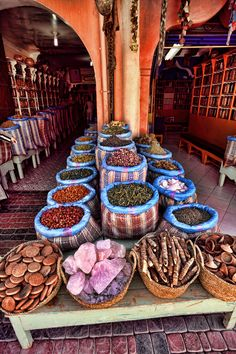 Spice shop Marrakech