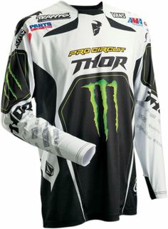 Thor Motocross Core Pro Circuit MX Jersey - 2014 Pro Circuit's Official Gear