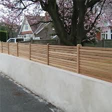 Curved garden fence outside pinterest garden fencing fences front garden fence ideas uk google search workwithnaturefo