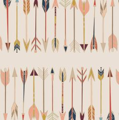 Arrow Crib Sheet - Aztec Crib Sheets / Neutral Nursery / Changing Pad Cover Or…