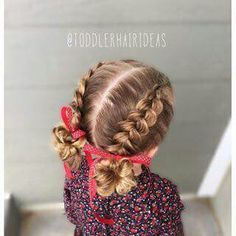 Hairstyles For Little Girls Endearing Hair Style For Little Girls  My Creation Miris_Things  Pinterest