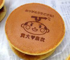 どら焼き   ロゴどら焼き japanese sweets  wagashi dorayaki http://logodora.jp
