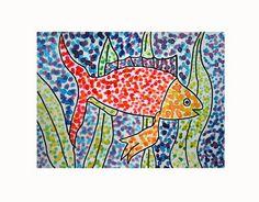 POINTILLISM FISH by heidabjorg, via Flickr